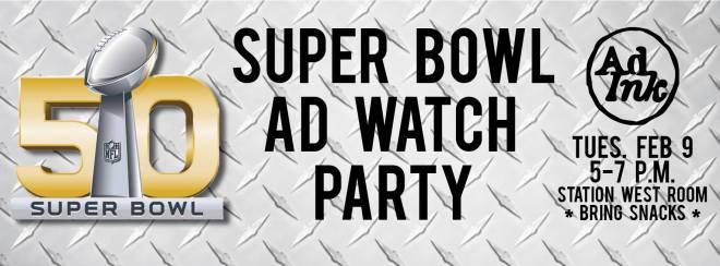 AdInk Super Bowl Party 2016